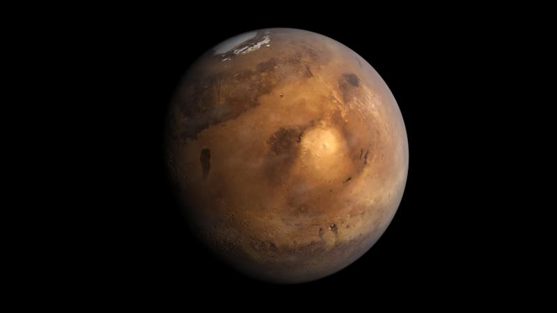 Scientists just discovered a huge body of ice on Mars