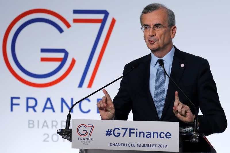 FILE PHOTO: The G7 Finance ministers and central bank governors meeting in Chantilly