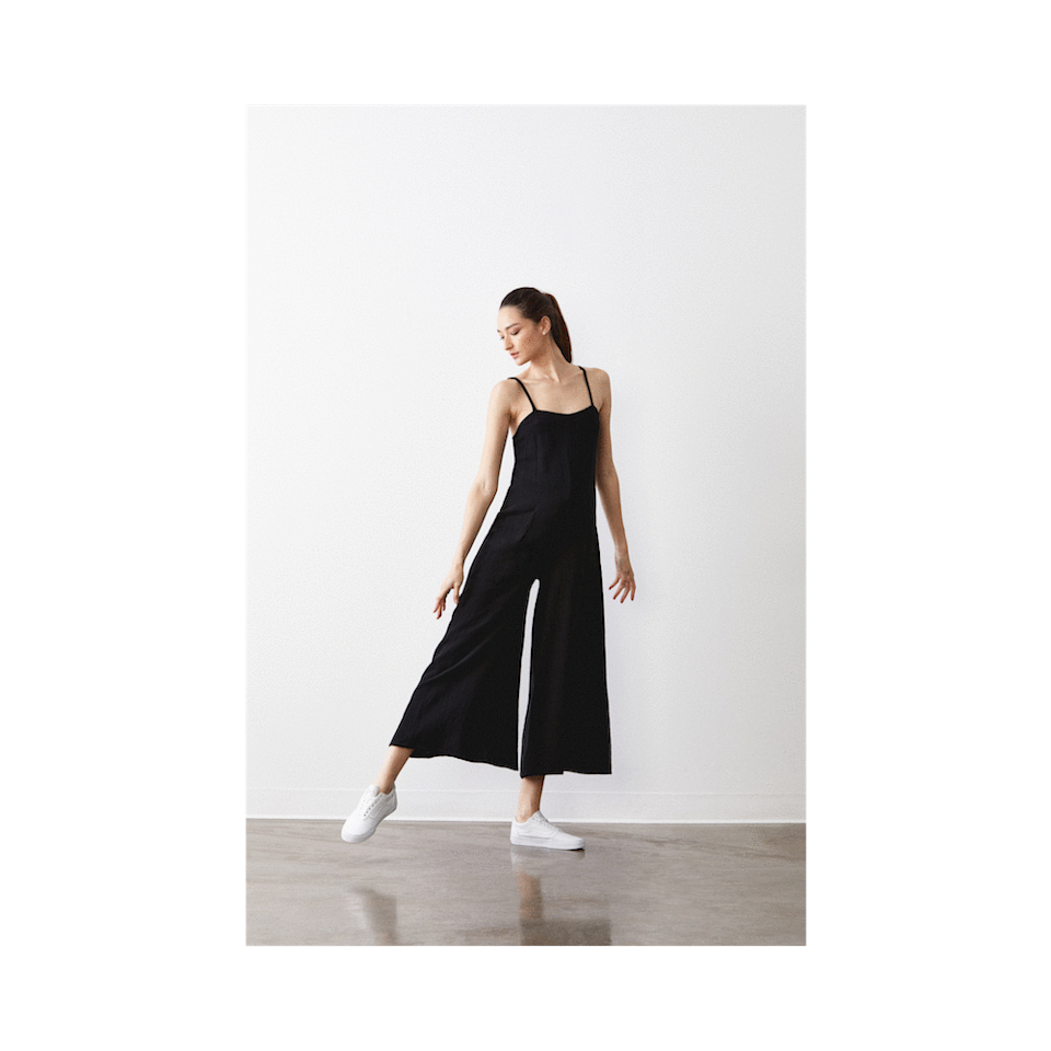 """<p>There are no set fashion rules that mandate maternity wear only be worn if you're expecting. Even though A Pea In a Pod's Rachel Pally Maternity Jumpsuit was designed to fit a baby bump, it's also a comfortable alternative for anyone who prefers a bit more room in the waist without taking away from the overall style. </p> <p><strong>Sizes available:</strong> XS to XL</p> <p><strong>$260</strong> (<a href=""""https://www.apeainthepod.com/collections/shop-the-audrey-collection/products/rachel-pally-hugo-gauze-maternity-jumpsuit-006-24478-000-001"""" rel=""""nofollow noopener"""" target=""""_blank"""" data-ylk=""""slk:Shop Now"""" class=""""link rapid-noclick-resp"""">Shop Now</a>)</p>"""