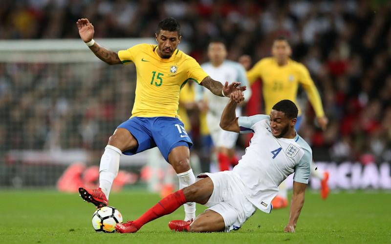 Joe Gomez was impressive against Brazil - PA