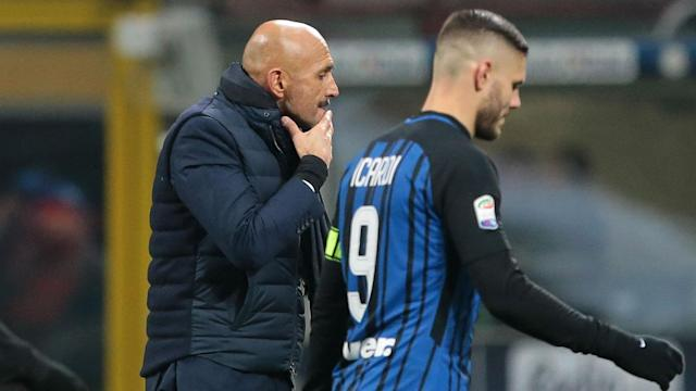 Mauro Icardi netted his 25th Serie A goal of the season in Inter's 4-0 win over Cagliari, but Luciano Spalletti wants more from his captain.