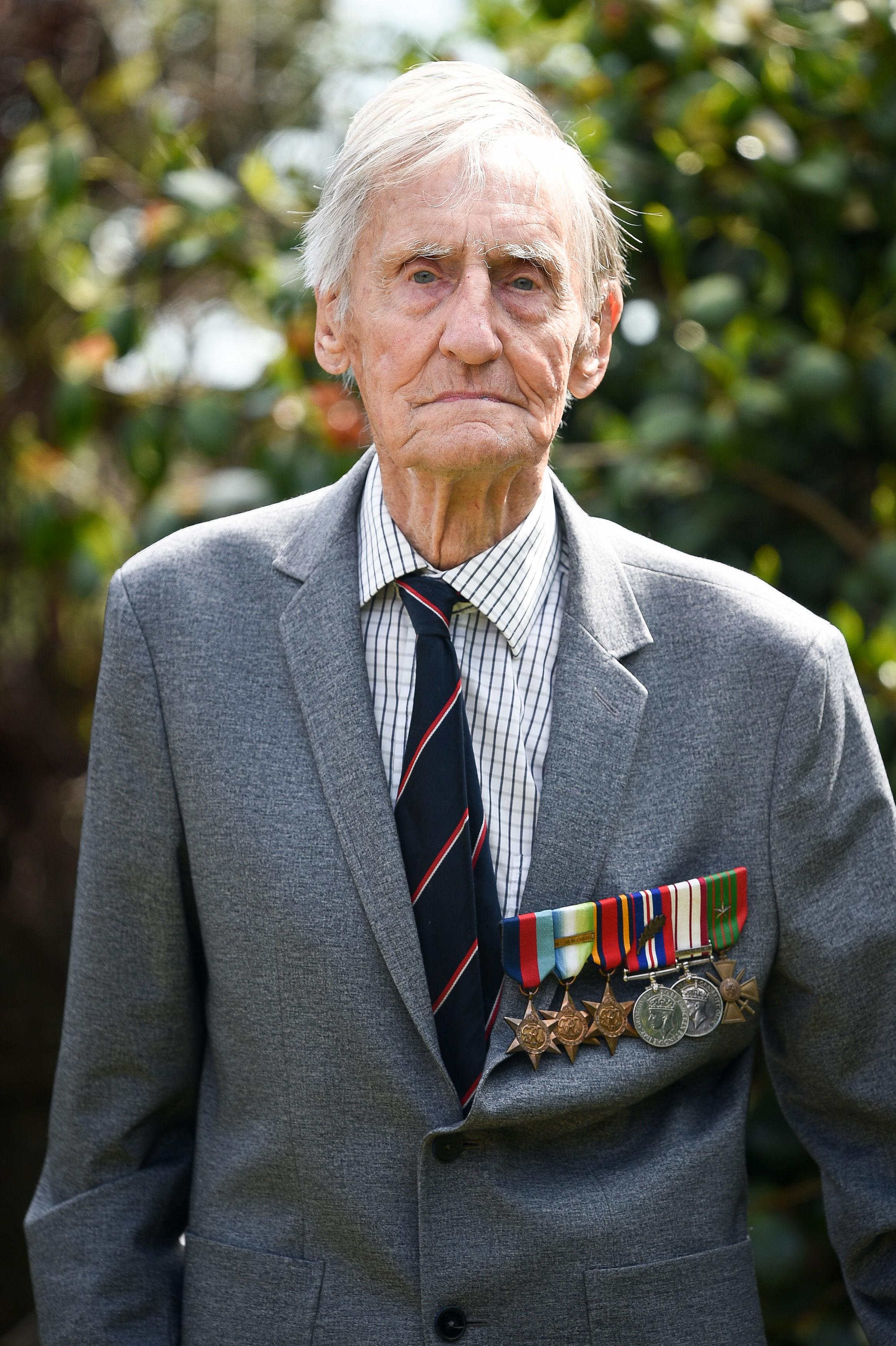 Royal Navy veteran Jim Booth (PA)