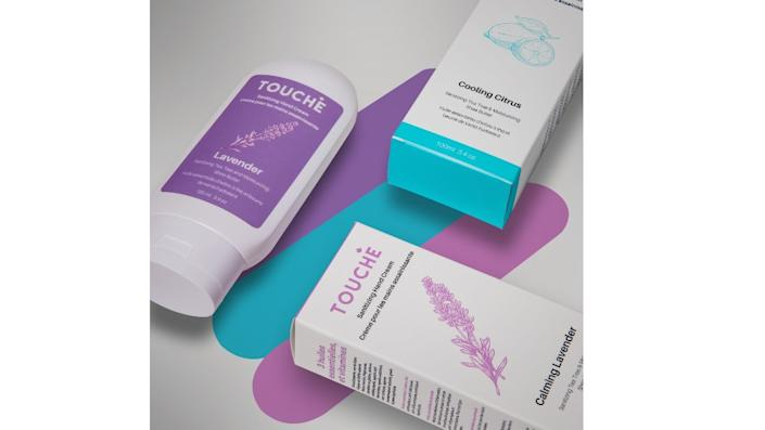 Handcrafted Canadian Vegan Sanitizing Hand Cream - Touché, $25