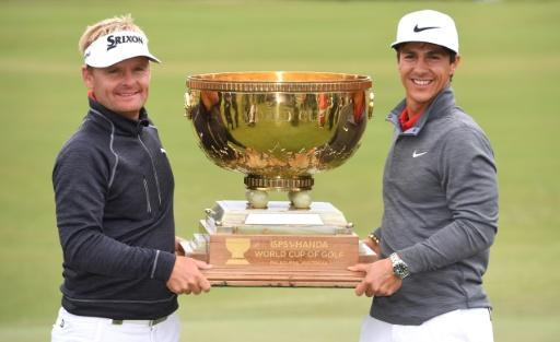 <p>Golf World Cup returning to Melbourne in 2018</p>
