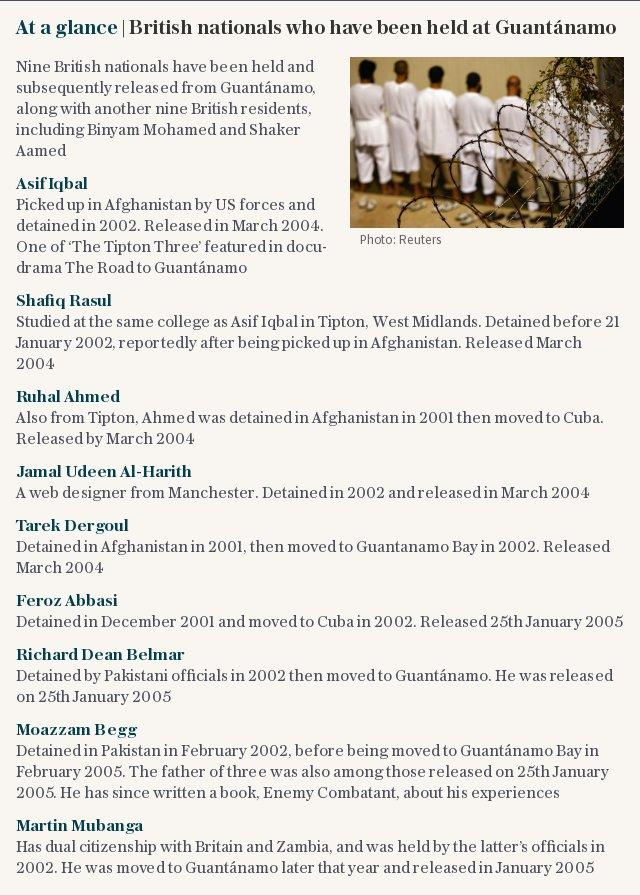 UK taxpayers' money given to Guantanamo detainee was 'passed' to teenage jihadists who died in Syria