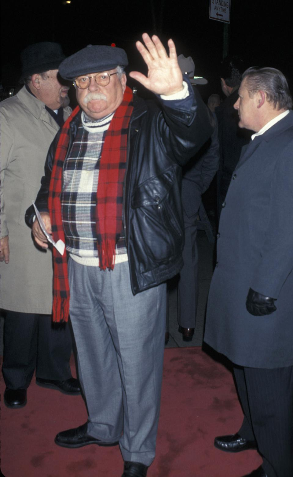 Wilford Brimley (Photo by Ron Galella/Ron Galella Collection via Getty Images) *** Local Caption ***
