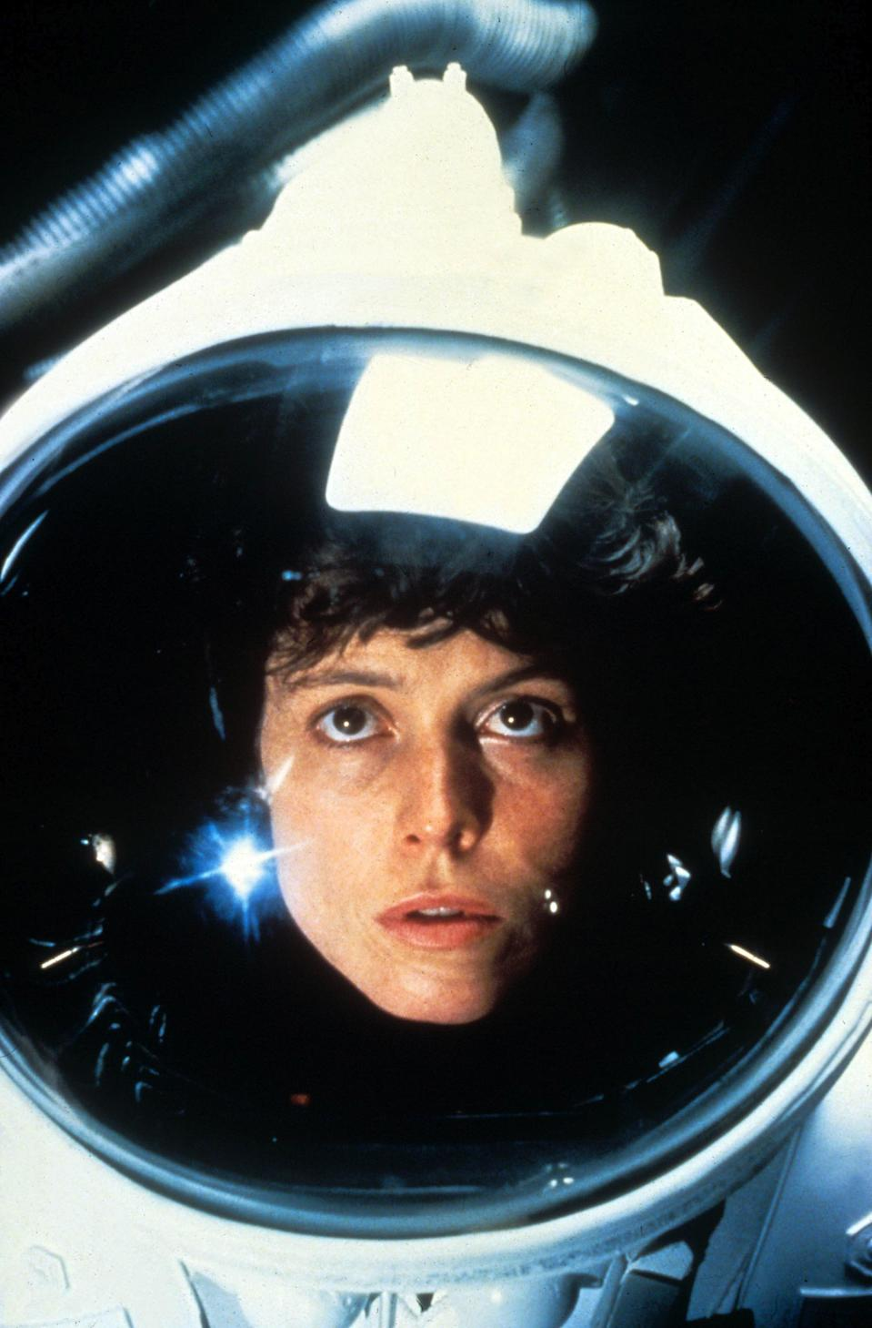 "<p><strong><em>Alien</em></strong>(1979)</p><p>Warrant Officer Ripley (Sigourney Weaver) and her six fellow crew members are unexpectedly woken up from stasis. Unfortunately, a giant bloodthirsty alien has invaded the ship and will pick off anyone too slow or too scared (or just simply in the wrong place). Ripley's the bravest of the bunch.</p><p><strong>Why You Should Watch It:</strong> Watch <em>Alien</em> for Ellen Ripley, one of the most badass women protagonists in movie history. Ellen becomes a hero by rising to meet circumstances. <em>Alien</em> is the first in a line of <a href=""https://www.refinery29.com/2018/03/192881/black-women-sci-fi-shows-movies-diversity"" rel=""nofollow noopener"" target=""_blank"" data-ylk=""slk:stellar sci-fi movies helmed by women"" class=""link rapid-noclick-resp"">stellar sci-fi movies helmed by women</a> ( <em>Ex Machina</em> and <em><a href=""https://www.refinery29.com/2018/02/191499/annihilation-review-natalie-portman-movie"" rel=""nofollow noopener"" target=""_blank"" data-ylk=""slk:Annihilation"" class=""link rapid-noclick-resp"">Annihilation</a></em> being some of the most recent).</p><span class=""copyright"">20th Century Fox/Kobal/REX/Shutterstock</span>"