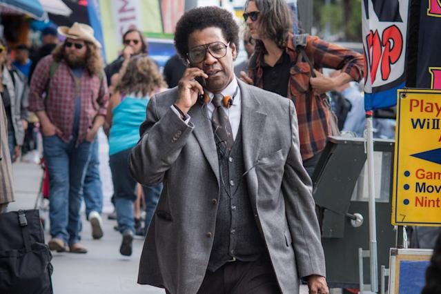 Denzel Washington in <em>Roman J. Israel, Esq.</em> (Photo: Sony)