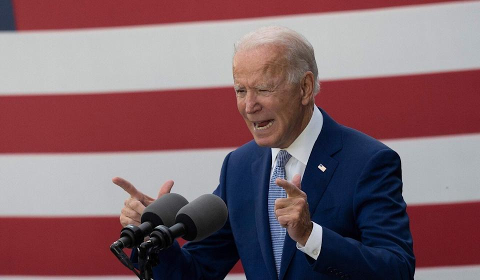 Like Trump, Democratic presidential candidate Joe Biden has tried to play on the US public's negative impressions of China to contend he would be much tougher on Beijing. Photo: AFP