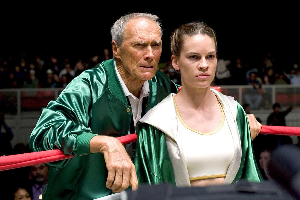 "Best Actor Nominee - Clint Eastwood, 74, ""Million Dollar Baby"""