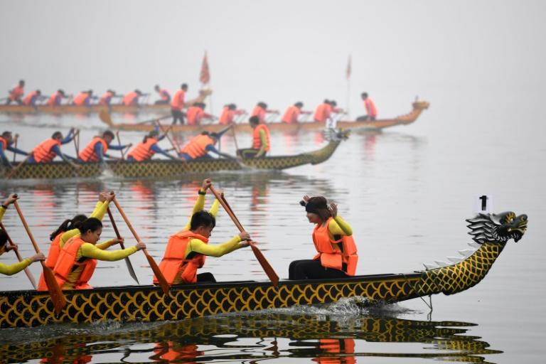 Dragon boat racing is popular in rural parts of Vietnam but has not been held in the capital in recent memory