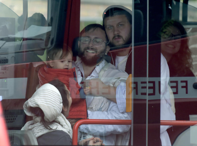 The gunman had tried to get into a synagogue but failed (Picture: AP/Jens Meyer)