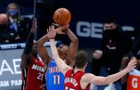 NBA: Miami Heat at Oklahoma City Thunder