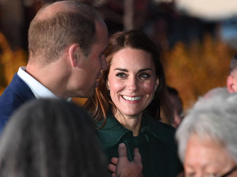 Will and Kate attend a cultural performance on the banks of the Yukon River.