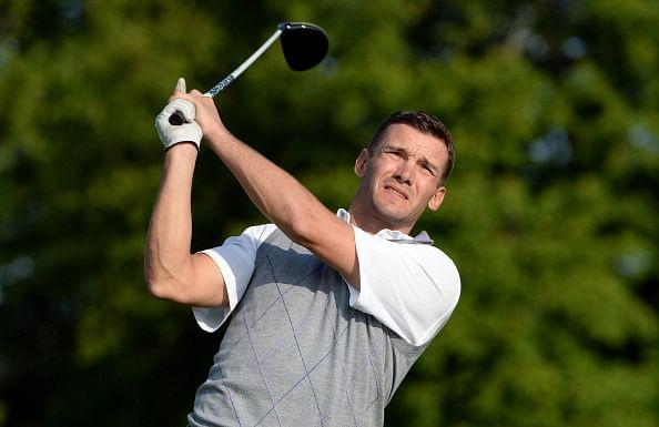NEW BALL GAME: Shevchenko is set to try his hand at golf