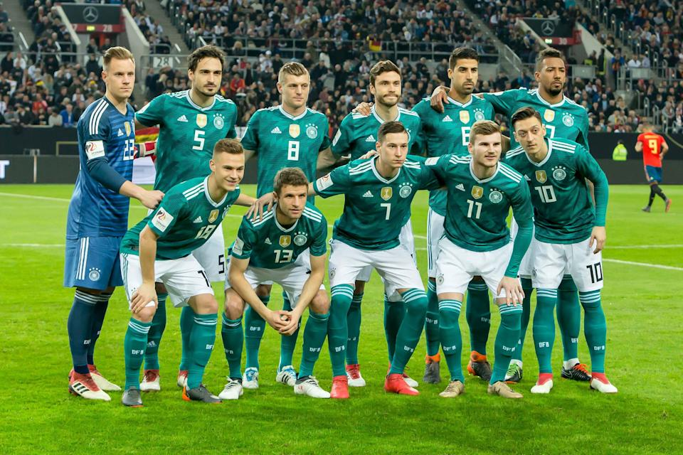 Germany made the biggest noise in naming its 23-man roster for the 2018 World Cup on squad deadline day. (Getty)