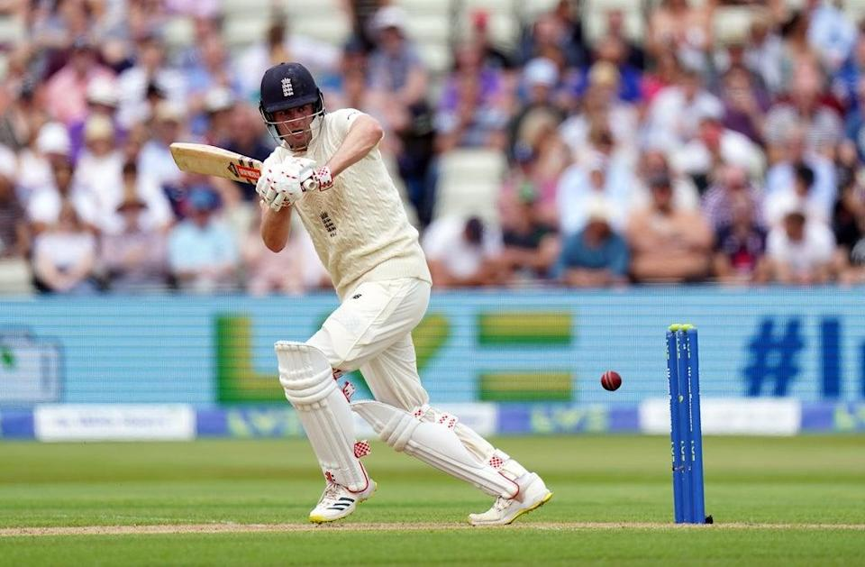 Dom Sibley dug in to make a half-century and help Warwickshire bat out a draw (Mike Egerton/PA) (PA Wire)
