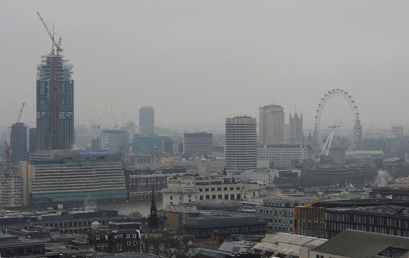 "Mayor of London Boris Johnson issued a ""high"" air pollution warning earlier this week (AFP Photo/Alessandro Abbonizio)"