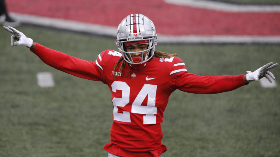 Ohio State defensive back Shaun Wade had his ups and downs the past few seasons. (AP Photo/Jay LaPrete)