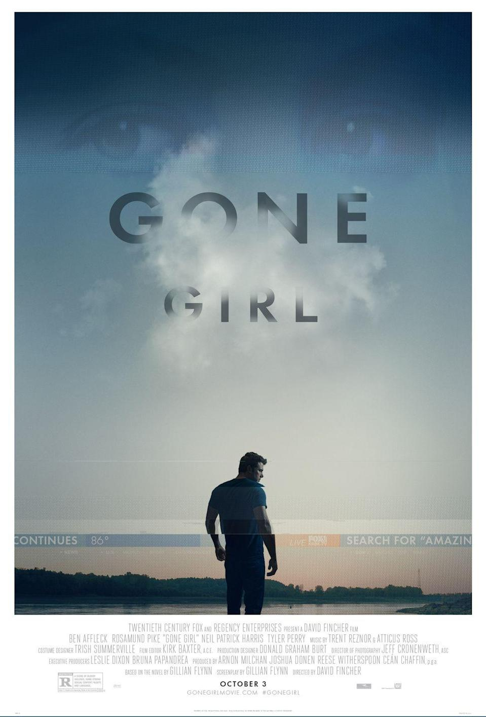 "<p>Though this popular psychological thriller (based on the <a href=""https://www.amazon.com/Gone-Girl-Gillian-Flynn/dp/0307588378?tag=syn-yahoo-20&ascsubtag=%5Bartid%7C10055.g.34396232%5Bsrc%7Cyahoo-us"" rel=""nofollow noopener"" target=""_blank"" data-ylk=""slk:novel by Gillian Flynn"" class=""link rapid-noclick-resp"">novel by Gillian Flynn</a>) may not follow the classic ""whodunit"" formula, there's definitely a murder mystery at the center of <em>Gone Girl</em>. A man (Ben Affleck) becomes a prime suspect for the murder of his wife (Rosamund Pike) after she goes missing, but all certainly isn't what it seems ... <br></p><p><a class=""link rapid-noclick-resp"" href=""https://www.amazon.com/Gone-Girl-Ben-Affleck/dp/B00O4UQIT4?tag=syn-yahoo-20&ascsubtag=%5Bartid%7C10055.g.34396232%5Bsrc%7Cyahoo-us"" rel=""nofollow noopener"" target=""_blank"" data-ylk=""slk:WATCH ON AMAZON"">WATCH ON AMAZON</a></p>"