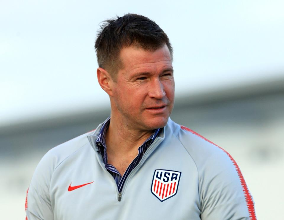 New USMNT general manager Brian McBride represented the United States at three World Cups. (Photo by Mike Ehrmann/Getty Images)