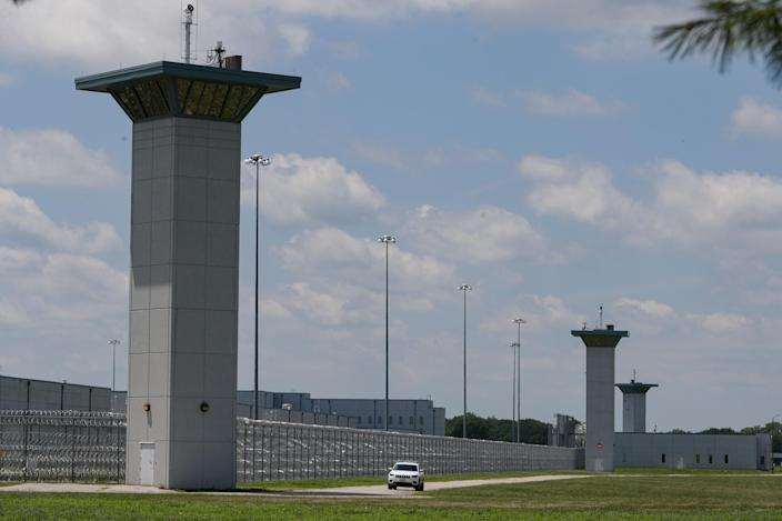 Federal prison complex in Terre Haute, Ind., on July 17, 2020.