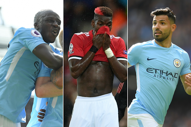 Ruled out: Paul Pogba, Sergio Aguero, Benjamin Mendy