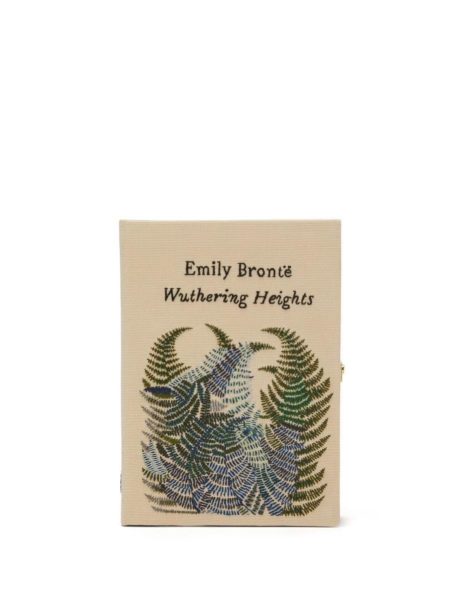 <p>This <span>Olympia Le Tan Wuthering Heights Embroidered Book Clutch</span> ($1,240) is a work of art, and has been at the top of this editor's wishlist for quite some time.</p>