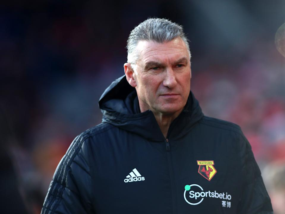 Watford FC manager Nigel Pearson. (Credit: Getty Images)