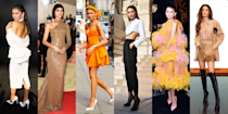 """<p>At just 24 years old, <a href=""""https://www.cosmopolitan.com/entertainment/celebs/a34013876/zendaya-net-worth/"""" rel=""""nofollow noopener"""" target=""""_blank"""" data-ylk=""""slk:Zendaya"""" class=""""link rapid-noclick-resp"""">Zendaya</a> is becoming quite the fashion icon, known just as much for her killer style (almost) as much as her impressive acting abilities. The Disney starlet and now-Emmy winner has had so many amazing fashion moments that we're taking a look back at some of her best looks to date. So take a trip back in time and browse through all these photos of the celeb's stunning red-carpet dresses, avant-garde ensembles, and colorful outfits. </p><p>And if you still can't get enough of Zendaya, click the links for some <a href=""""https://www.cosmopolitan.com/entertainment/celebs/a32928868/zendaya-facts/"""" rel=""""nofollow noopener"""" target=""""_blank"""" data-ylk=""""slk:fun facts"""" class=""""link rapid-noclick-resp"""">fun facts</a> and to read more about her <a href=""""https://www.cosmopolitan.com/entertainment/celebs/a27698858/zendaya-family-mom-dad-siblings/"""" rel=""""nofollow noopener"""" target=""""_blank"""" data-ylk=""""slk:parents and siblings"""" class=""""link rapid-noclick-resp"""">parents and siblings</a>. (The family pics are too adorable!) </p>"""