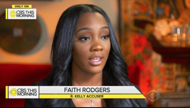 Faith Rodgers appears on <em>CBS This Morning</em>, May 22, 2018. (Photo: Courtesy CBS).