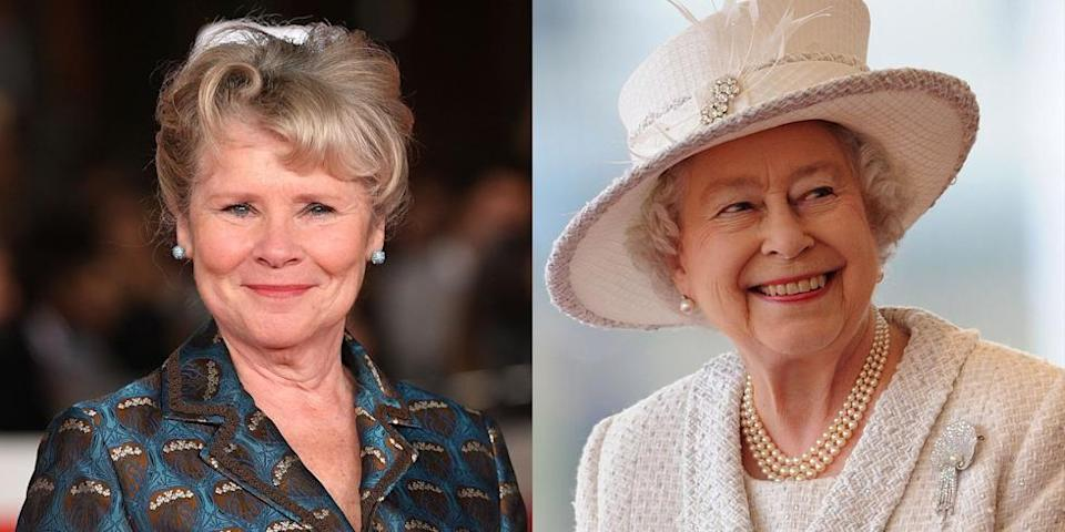 """<p>When season four wraps, <em>Harry Potter </em>actress Imelda Staunton will become the next star to play the reigning monarch. When her casting was announced, <a href=""""https://www.oprahmag.com/entertainment/tv-movies/a30728358/the-crown-season-5-cast-release-date-photos-news/"""" rel=""""nofollow noopener"""" target=""""_blank"""" data-ylk=""""slk:Imelda said"""" class=""""link rapid-noclick-resp"""">Imelda said</a>, """"'I have loved watching <em>The Crown</em> from the very start...I am genuinely honored to be joining such an exceptional creative team and to be taking <em>The Crown</em> to its conclusion. </p>"""