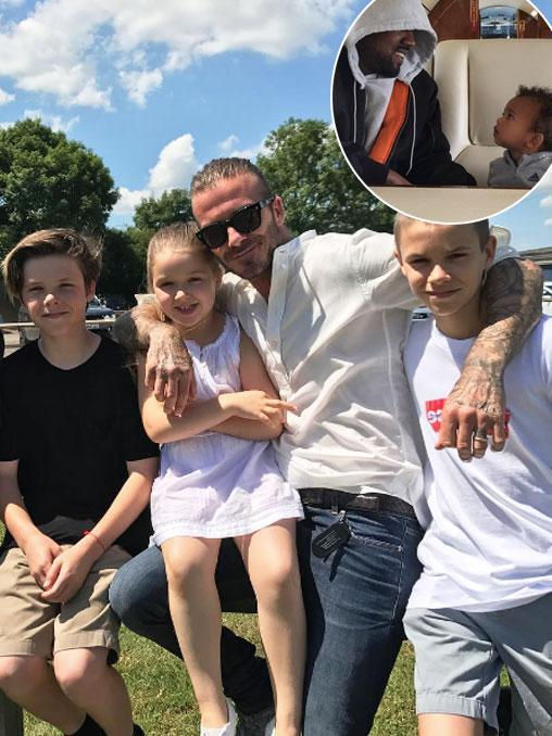 Stars celebrate Father's Day in the US