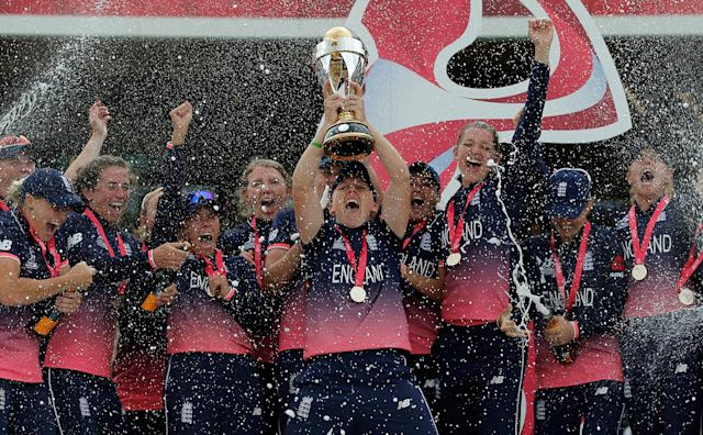 England claimed a dramatic Women's Cricket World Cup triumph in 2017