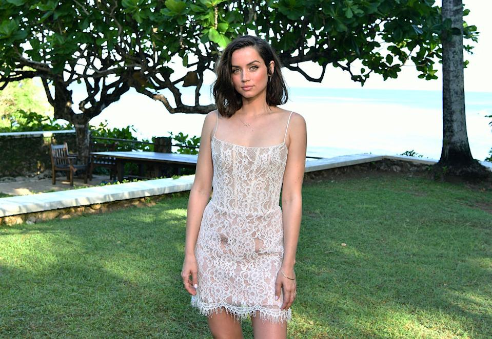 Ana de Armas will co-star in the upcoming James Bond movie. (Photo: Slaven Vlasic/Getty Images for Metro Goldwyn Mayer Pictures)