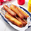 """<p>There's just something about a corn dog that feels fun — maybe it's the memory of days spent at a theme park or carnival. So why not add them to your 4th of July menu? </p><p><em><strong>Get the recipe at </strong></em><a href=""""https://www.delish.com/cooking/recipe-ideas/a27470888/classic-corn-dog-recipe/"""" rel=""""nofollow noopener"""" target=""""_blank"""" data-ylk=""""slk:Delish."""" class=""""link rapid-noclick-resp""""><em><strong>Delish.</strong></em></a></p>"""