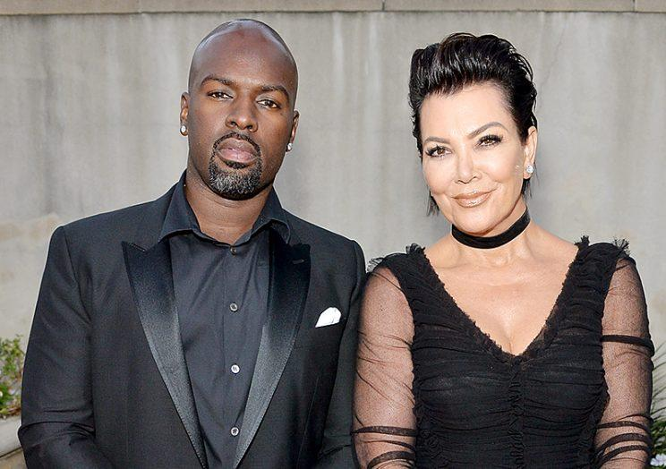 Corey Gamble with extrovert, Girlfriend