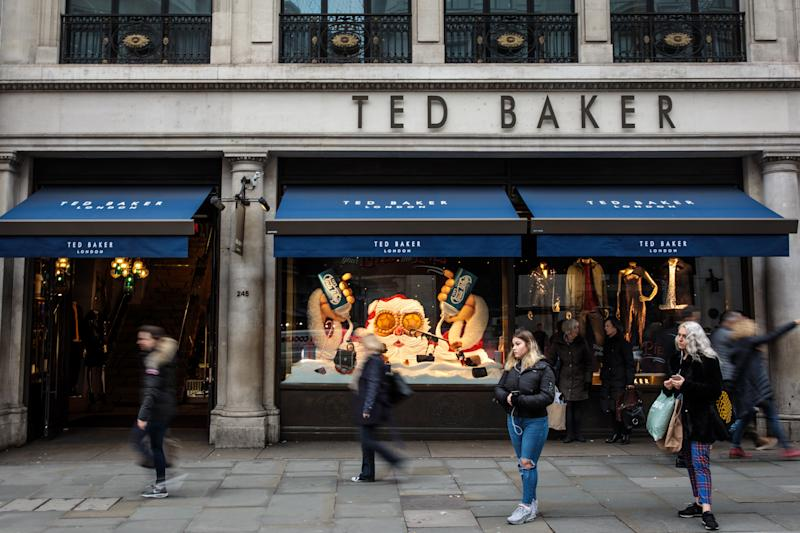 Investors sell Ted Baker shares after profit warning