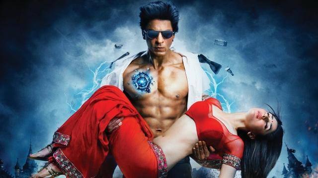 Shah Rukh Khan in a still from Ra.One