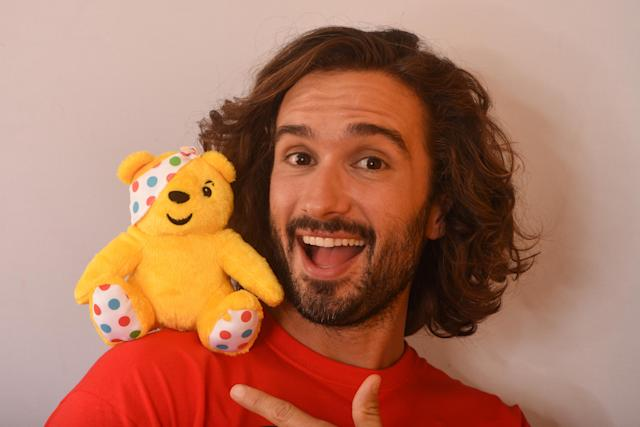 Joe Wicks backstage at BBC Children in Need's 2019 Appeal night at Elstree Studios in November 2019. (Dave J Hogan/Getty Images)