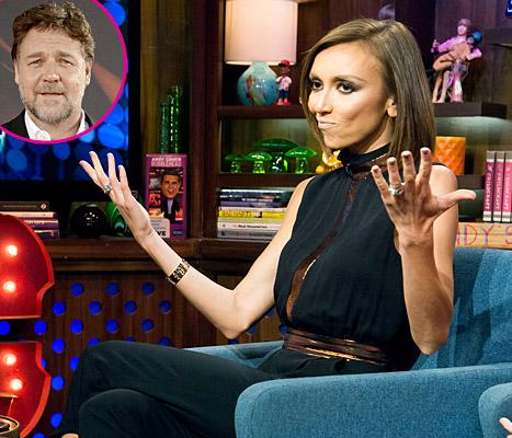 Giuliana Rancic Says Russell Crowe Was Her Most Awkward Interview Ever!