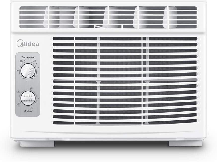 <p>With seven temperature settings and two-way air direction, the <span>Midea 5000 BTU EasyCool Window Air Conditioner and Fan</span> ($170) gives you total flexibility with your space. It's also energy-efficient, so you could even save a few dollars on your power bill. </p>