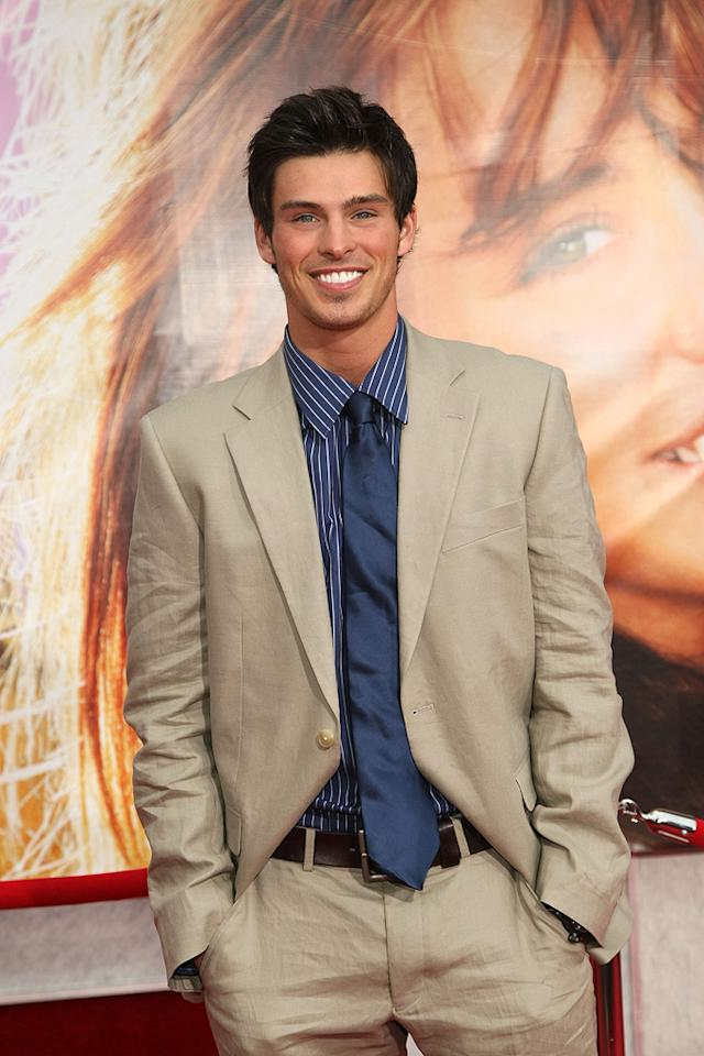 """Adam Gregory at the Los Angeles premiere of <a href=""""http://movies.yahoo.com/movie/1810025272/info"""">Hannah Montana The Movie</a> - 04/02/2009"""