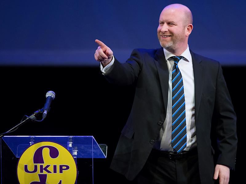 At the party's regional conference in Weymouth, the Ukip leader said there were positives to be taken from his 'bruising' defeat in the Stoke-on-Trent Central by-election: Getty