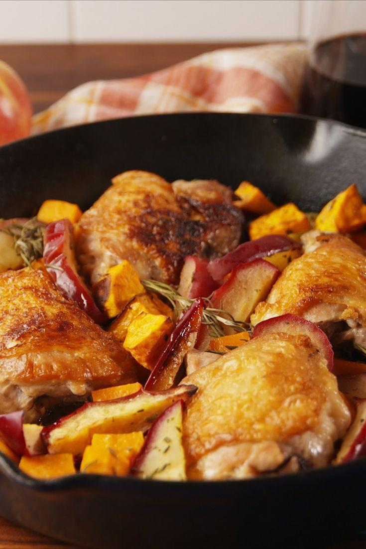 "<p>The perfect chicken recipe for fall.</p><p>Get the recipe from <a href=""https://www.delish.com/cooking/recipe-ideas/recipes/a56028/apple-cider-glazed-chicken-recipe/"" rel=""nofollow noopener"" target=""_blank"" data-ylk=""slk:Delish"" class=""link rapid-noclick-resp"">Delish</a>.</p>"