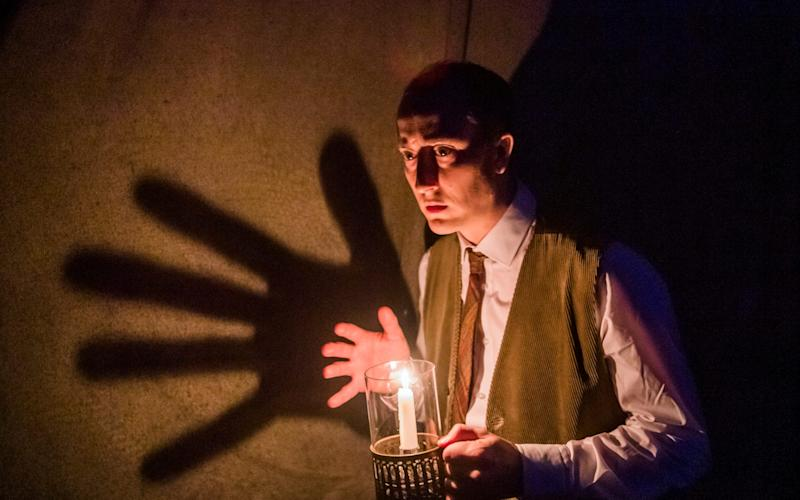 Matthew Spencer in the West End production of The Woman in Black - Tristram Kenton