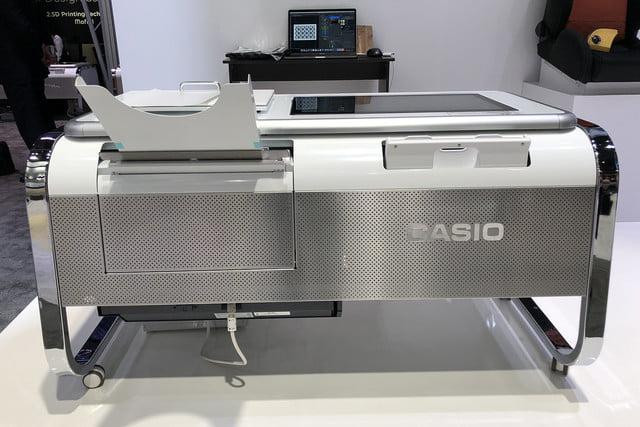 casio mofrel 25d printer ces2018 image uploaded from ios 12