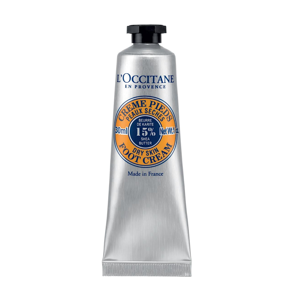 "<p>Remark loves L'Occitane's Shea Butter Foot Cream for more than just its chic packaging. ""[The formula] absorbs quickly, deeply moisturizes, and doesn't leave a sticky residue,"" she says. Additionally, Remark notes that it's laced with arnica, a natural skin healer.</p> <p><strong>$29</strong> (<a href=""https://shop-links.co/1638497353017903447"" rel=""nofollow"">Shop Now</a>)</p>"