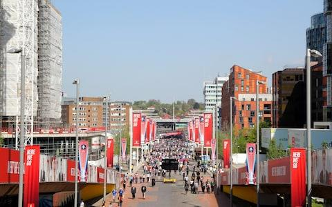 Wembley Way - Credit: SOUTHAMPTON FC