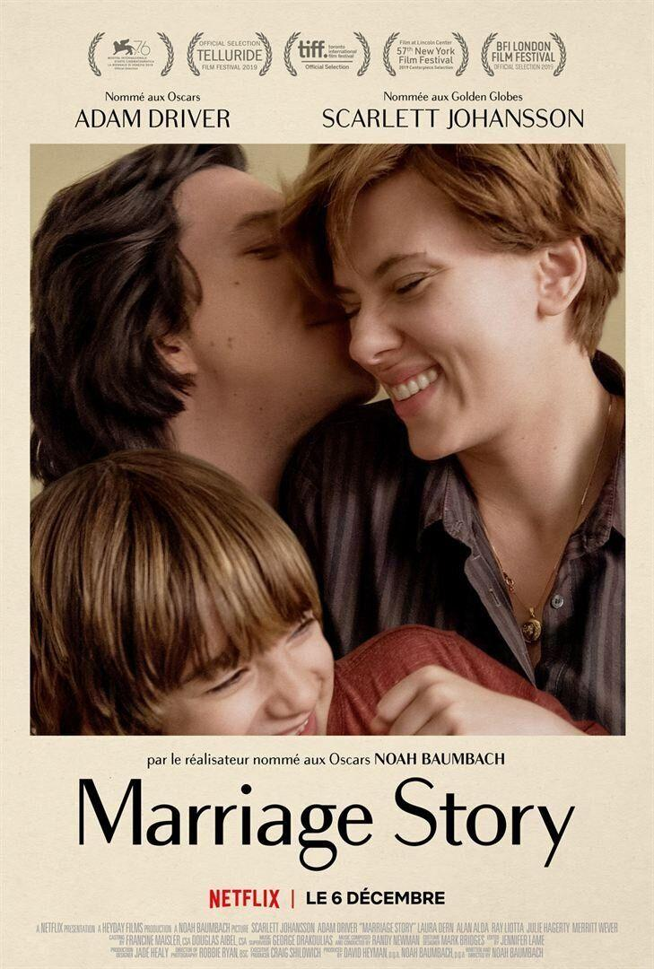 """Marriage Story"" favori des nominations aux Golden Globes 2020 (Photo: Netflix)"
